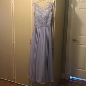 Morilee by Madeline Garner - Purple Formal Gown